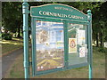 TQ8109 : Cornwallis Garden board by Oast House Archive
