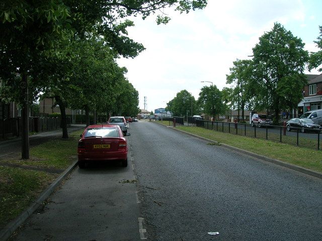 Sandford Road (A60) heading south