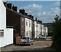 SK3375 : Village side street, Common Side, Barlow by Andrew Hill