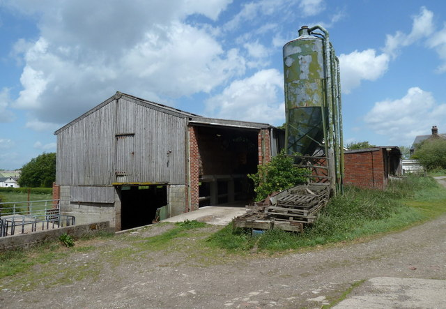 Farm buildings near Mickley