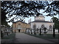 TQ2177 : Chiswick House at dusk by Stefan Czapski