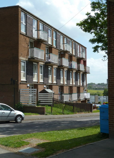Block of flats, Whinacre Place, Batemoor