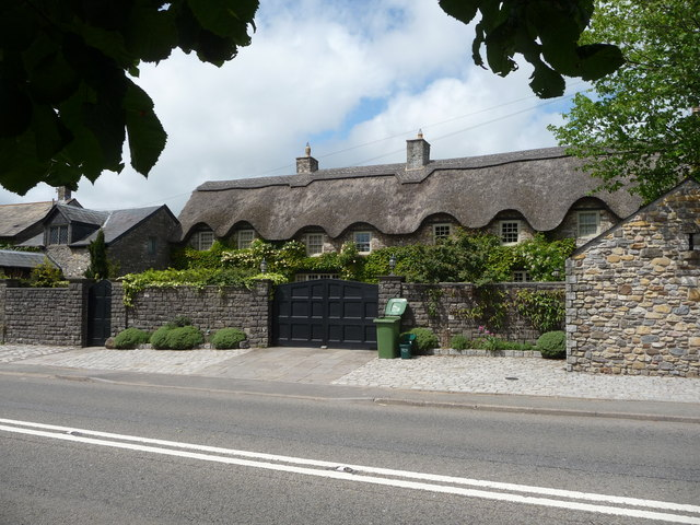Thatched property in St Nicholas