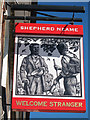 TQ5329 : Welcome Stranger sign by Oast House Archive