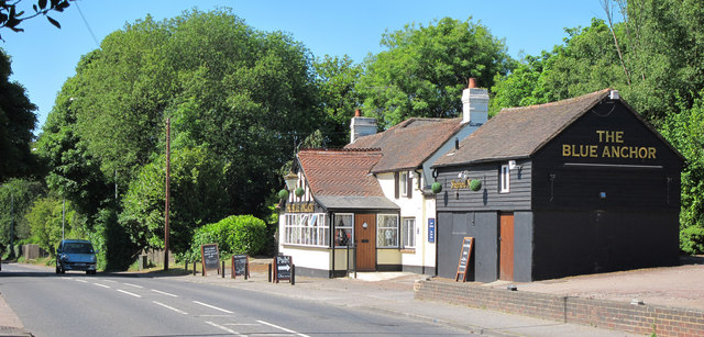 The Blue Anchor, Crowborough
