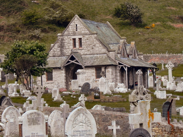 The Chapel, St Tudno's Cemetery