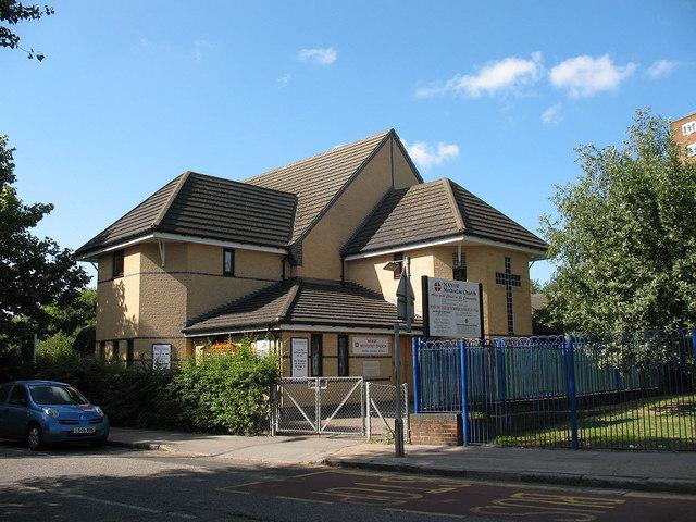 Manor Methodist Church, Bermondsey