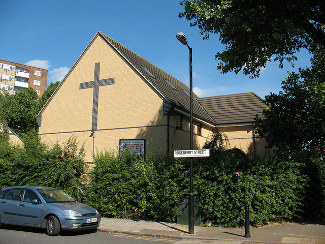 Manor Methodist Church, Bermondsey - rear