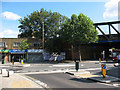 TQ3478 : New roundabout on Southwark Park Road by Stephen Craven