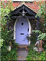 TQ4468 : Door of the cottage at Tongs Farm by Mike Quinn