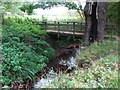 TQ4468 : Footbridge over the Kyd Brook west of Petts Wood (2) by Mike Quinn