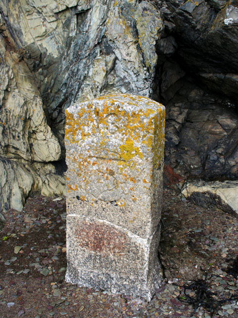 Mystery stone marker