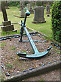 NZ8200 : Nautical grave, St Mary's churchyard, Goathland by Pauline Eccles