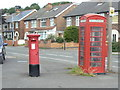 SK6140 : Vale Road postbox ref NG4 450 by Alan Murray-Rust