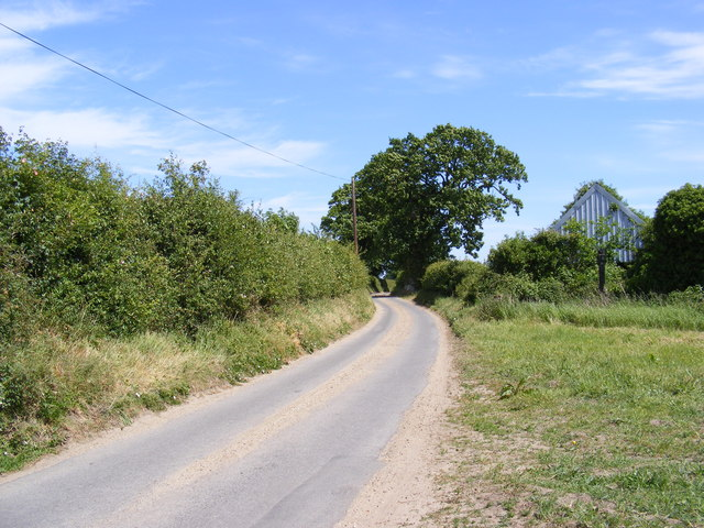 Country Lane off Thurning Road