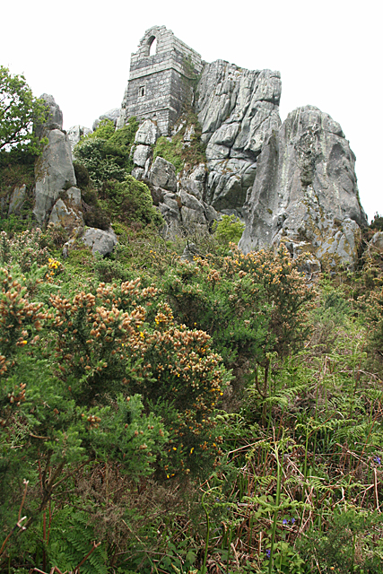 Roche: Roche Rock and chapel
