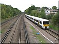 TQ4467 : Railway lines northwest of Petts Wood station by Mike Quinn