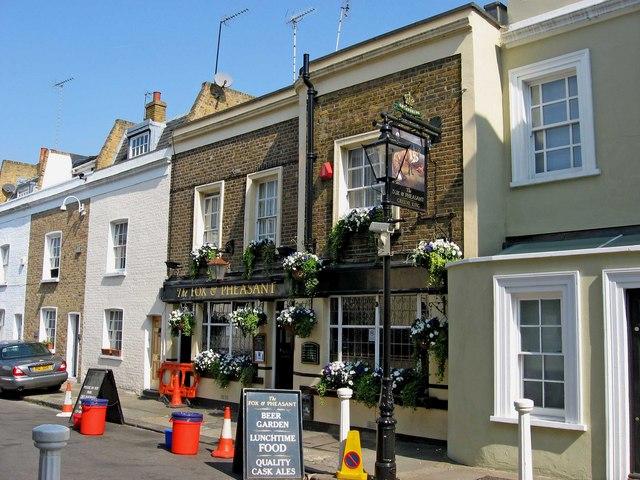 The fox pheasant 1 1 billing road l s wilson cc for The pheasant pub london