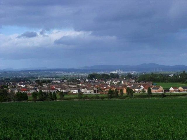 Stirling, fields of barley