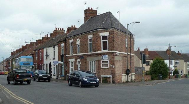 Junction of Barlborough Road and Rotherham Road