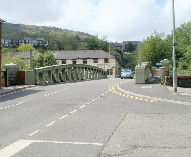 Grade II listed Lower Eirw Bridge, Trehafod