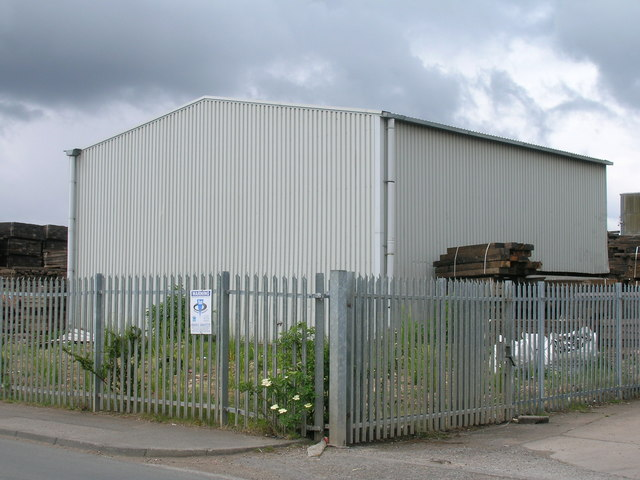 Industrial building, Sandall Lane