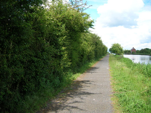 Path beside New Junction Canal