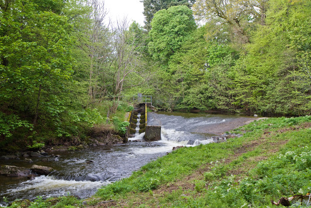 Weir On The Turret Burn