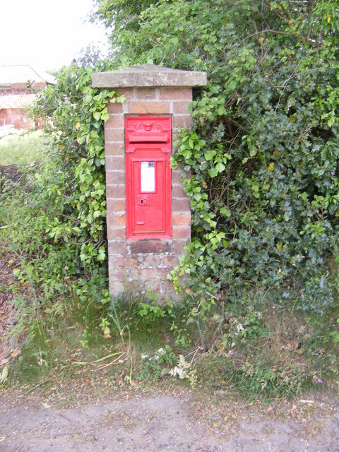 The Church Guestwick Victorian Postbox