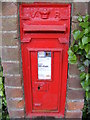 TG0626 : The Church Guestwick Victorian Postbox by Adrian Cable