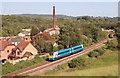 ST3392 : Passing train at Ponthir : Week 21