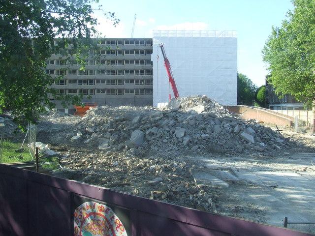 Heygate Estate demolition
