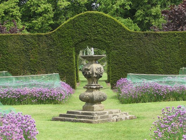 Sundial In The Walled Garden, Castle Howard