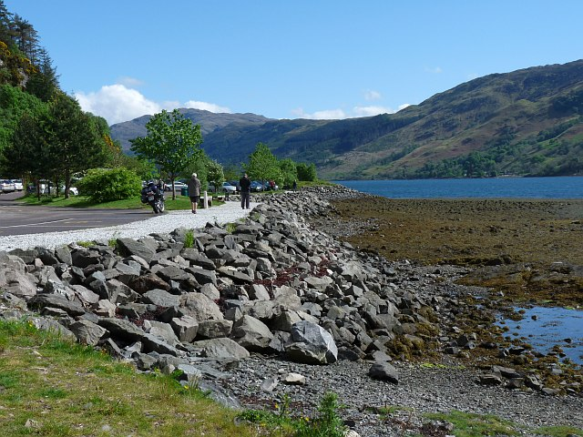 The shore of Loch Duich
