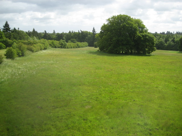 Chalfont St Giles: View eastward from the Captain Cook Monument