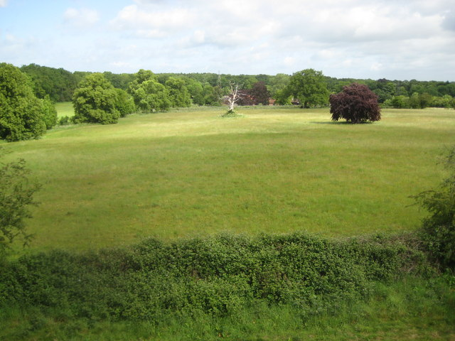 Chalfont St Giles: View northward from the Captain Cook Monument