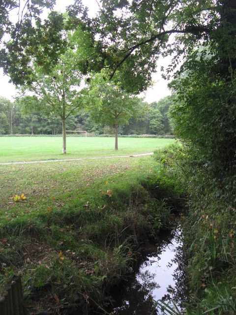 The Kyd Brook - Main Branch, south of Eynsford Close, BR5 (2)