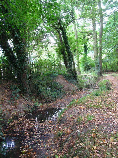 The Kyd Brook - Main Branch, south of Eynsford Close, BR5 (4)