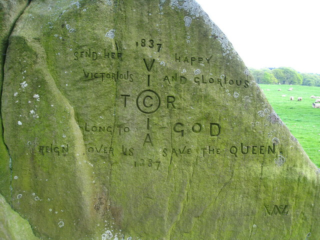 Jubilee Rock Inscription