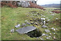 NR8393 : Well at Dunadd Hillfort by Michael Jagger