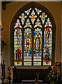 TQ3380 : Stained glass window, St Olave Church, City of London by Julian Osley