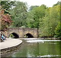 SK2168 : Bakewell Bridge by Gerald England