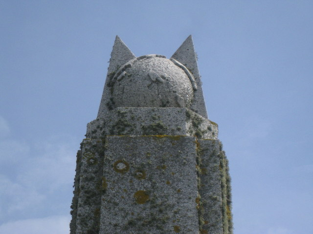 Marconi Monument - top feature