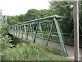 TL3703 : Footbridge at Fishers Green by Stephen Craven