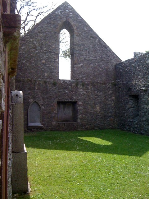 Inside Whithorn Priory
