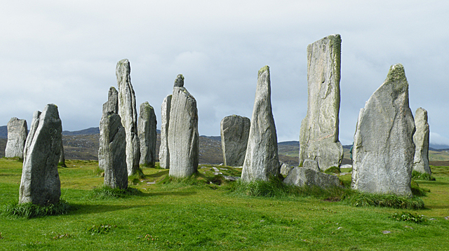 The Central Circle at Calanais