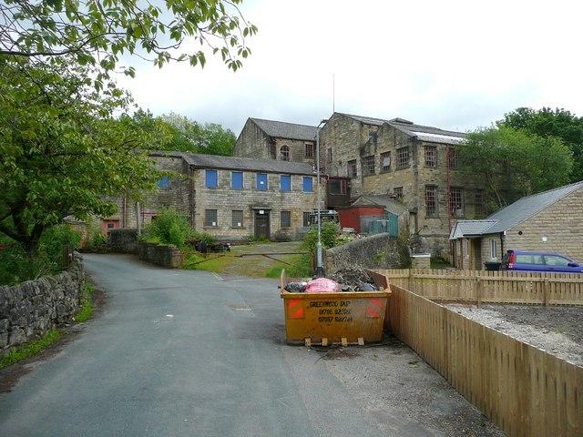 Birks Mill, Birks Lane, Walsden