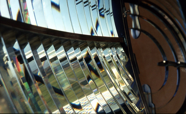 Kinnaird Head Lighthouse Fresnel Lens