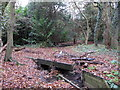 TQ4366 : The Kyd Brook - Main Branch, in Clay Wood (3) by Mike Quinn