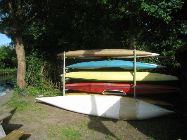Canoes for hire